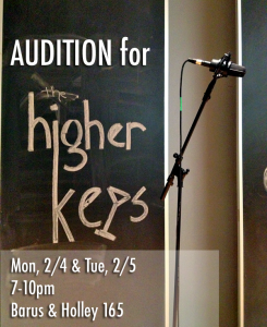 Spring 2013 Auditions