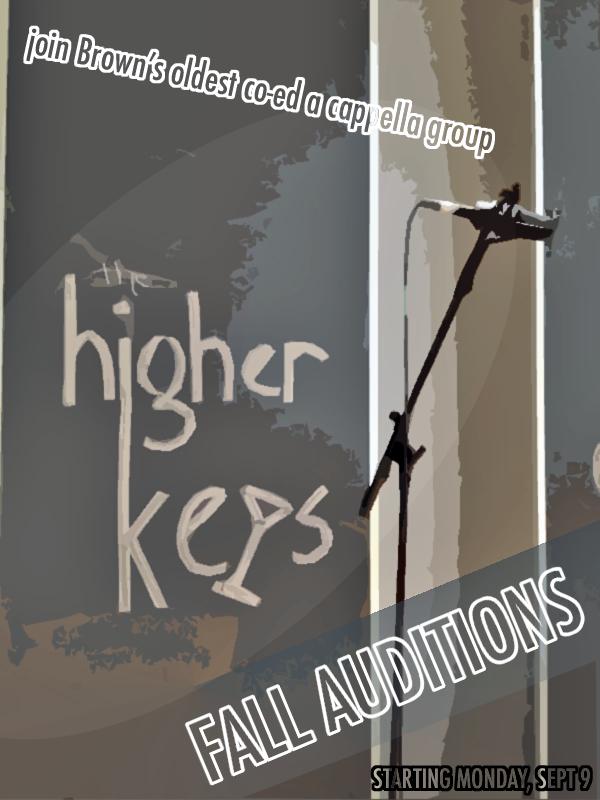 Higher Keys Fall Auditions 2013